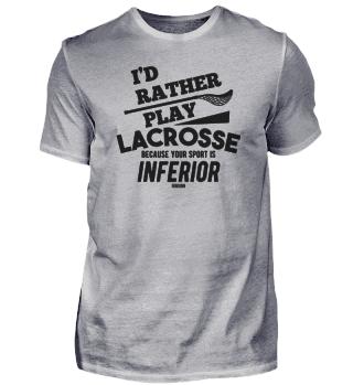 Lacrosse Spruch