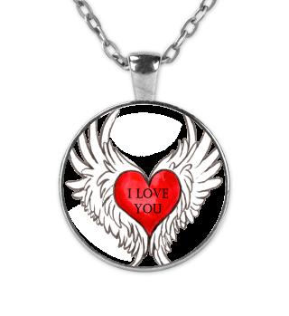 Engel Herz Valentinstag Geschenk idee