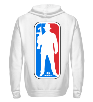 Herren Zip Hoodie Sweatshirt G Original Ramirez