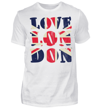 Union Jack - Love London - Heart - Herz - Geschenkidee - Gift Idea - Great Britain - England - Sight Seeing City Trip - Städtereise - Auslandsjahr - Au Pair - Reiselust - Tourist - Tourismus - Skyline - Big Ben - Kensington Palace - Buckingham Palace