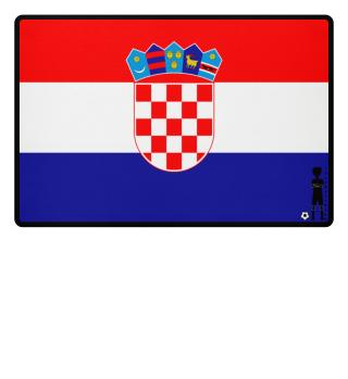 fussballkind - Fussmatte Kroatien