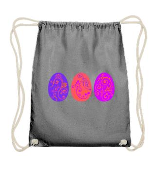 ★ Three Boho Ornaments Easter Eggs 3