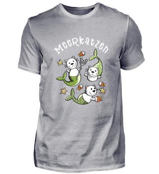 Happy Meerkatzen I Meerjungfrau