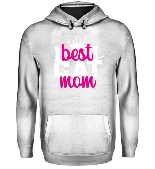 Best Cat Mom Shirt Cat Owner Lover Gift