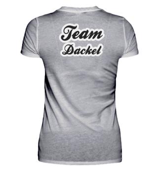 Team Dackel schwarz Dackelfieber