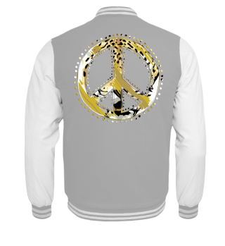 ♥ Peace Sign - Animal Print I