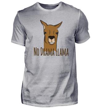 Lama No Drama Tier Slogan Spruch Comic