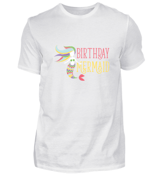 Birthday Mermaid Party Gift