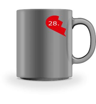 Paartner Jahrestag 28
