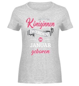 Königinnen werden im Januar...