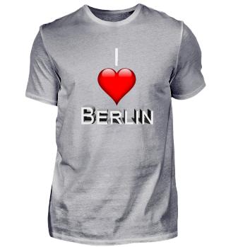 I love Berlin 3D Logo