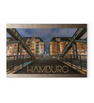 Hamburg Hafencity Art Real Photo Harbour