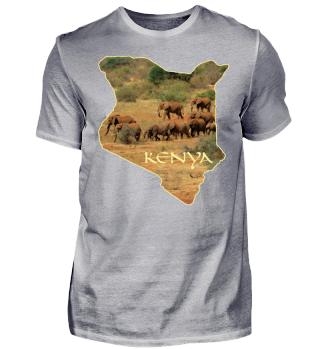 Kenya - Afrika - Elefanten - Geschenk