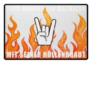 Heavy Metal Fußmatte