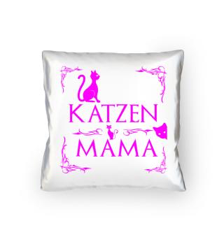 Katzen Mama - Kissen