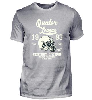 Quater League - 25s Birthday Gift TShirt