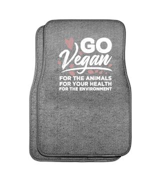 Vegan Tshirt Go Vegan Vegetarian