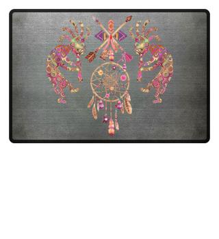 Kokopelli Dreamcatcher Ornaments I