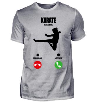 Karate is calling! gift