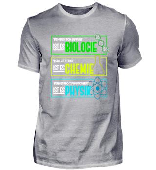 Für Biologie, Chemie und Physik Nerds