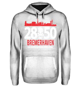 2850 Bremerhaven Hoody Blue