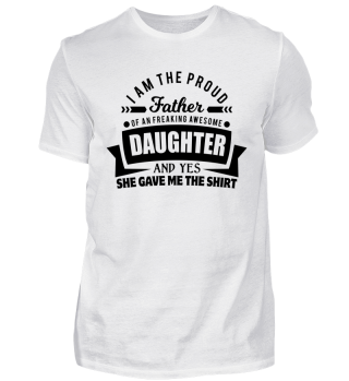 Father Daughter Teacher Day Gift freaking design!