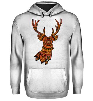 ★ Deer Folklore Mandala I