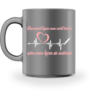 Krankenpflege Tasse - sedieren