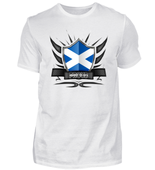 Scotland Proud Wappen Flag 012