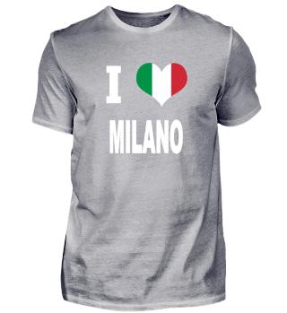 I LOVE - Italy Italien - Milano