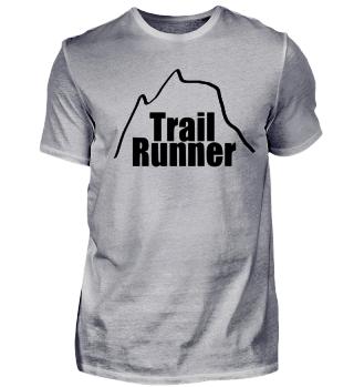 Trail Runner Laufen Marathon Joggen