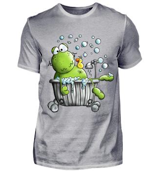 Bade Frosch