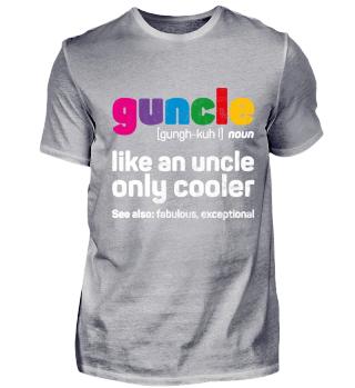 Guncle - Gay Uncle, lustiger Onkel