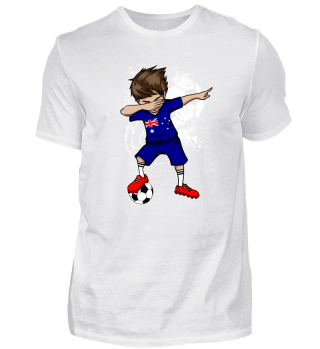 Australia Soccer Boy Dab