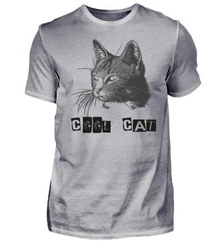 COOL CAT SHIRT Cute Cat T-Shirt ANIMALS