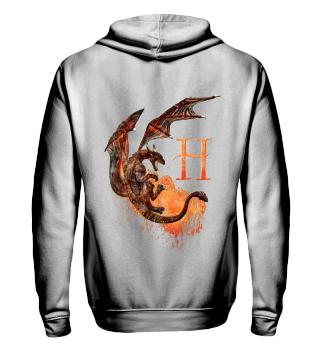 Drachen Buchstabe H