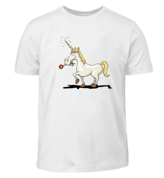 Einhorn Comic western-style unicorn