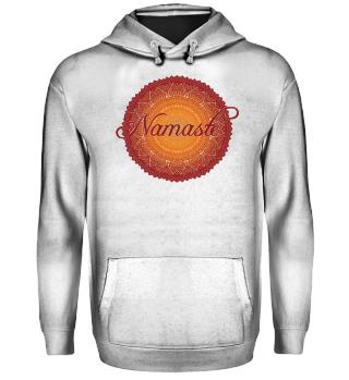 Ethno Folklore Lotus Mandala Namasté V