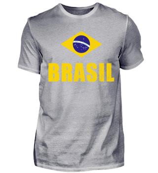 Brasil T-Shirt | Fanshirt | Jersey