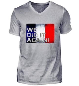 Frankreich Fußball Weltmeister 2018