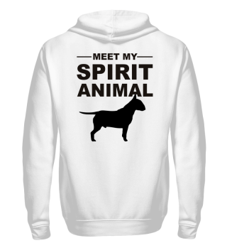 Meet Spirit Animal - bullterrier - black