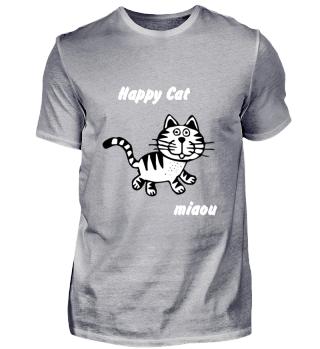 katze,happy cat, miaou, geschenk