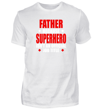 Father Job Description Shirt