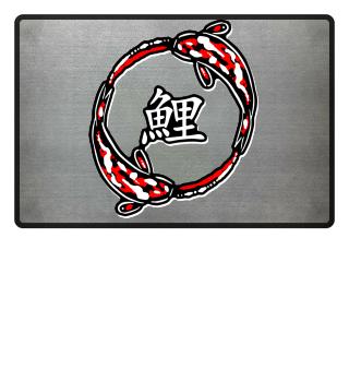 KOI Fish - Nishikigoi SHOWA Circle