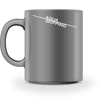 Aqua Skipping line - weiss