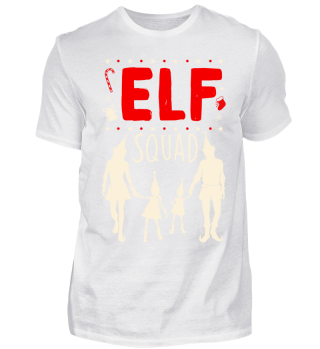 Elf Squad Funny Christmas Family Elves