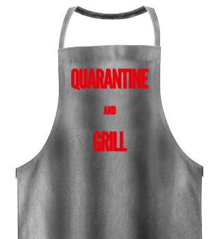 Quarantäne Grillerschürze