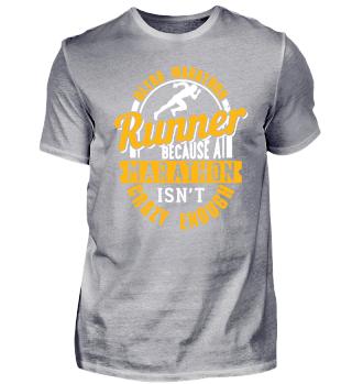 Ultra Marathon Runner Because A Marathon