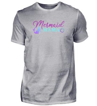 Mermaid Mama Lustiges Mutter T-Shirt