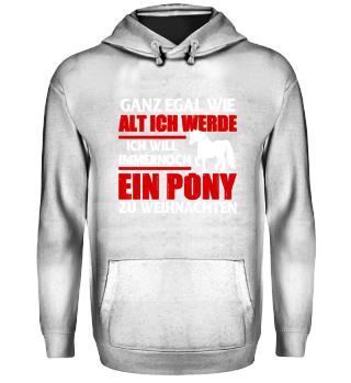 Pferd - Ich will ein Pony zu Weihnachten